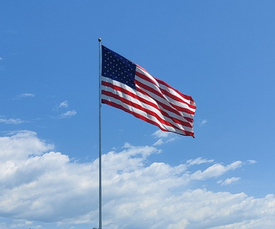 American Flag Color
