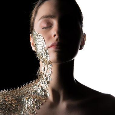 Body armour made of thumbtacks. 20210123 425