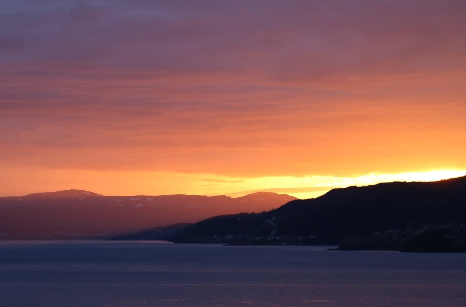 Sunset on the Bay of Islands, NL