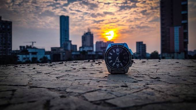 Sunset Time Photography by silentlearning - Rule of Thirds Photo Contest vol10