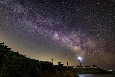Milky Way Season 2021, Pigeon Point Lighthouse
