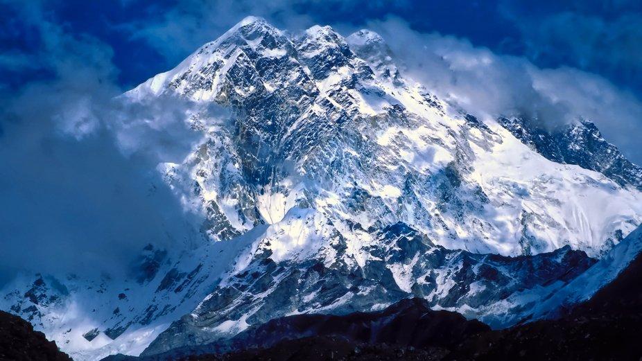 Taken from Lobuche (near Everest Base Camp)