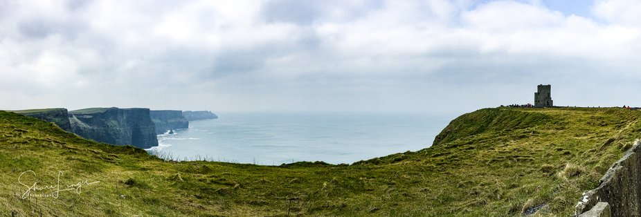 Pano of Cliffs of Moher, Co Clare,  Galway,  Ireland