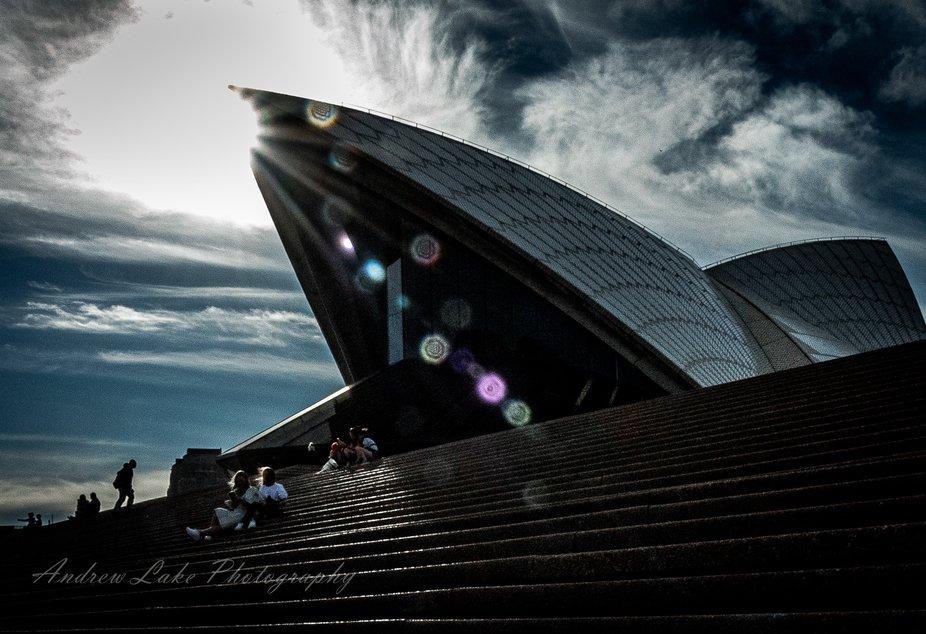 Opera House moody flare