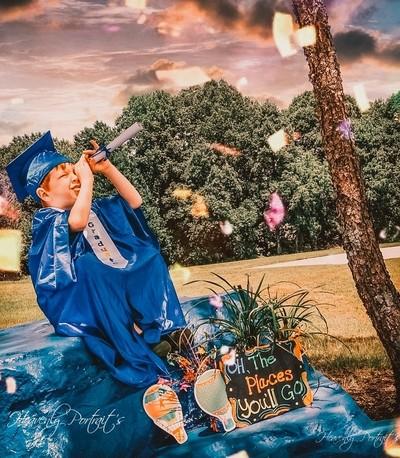 My Proud Kindergarten Graduate