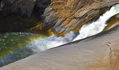 Augrabies Waterfall with Rainbow3