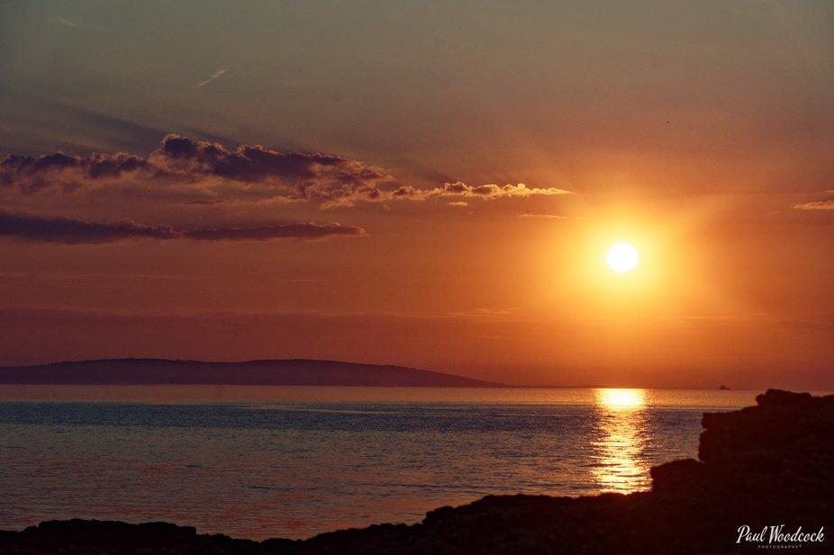 Penmon Point At Sunset