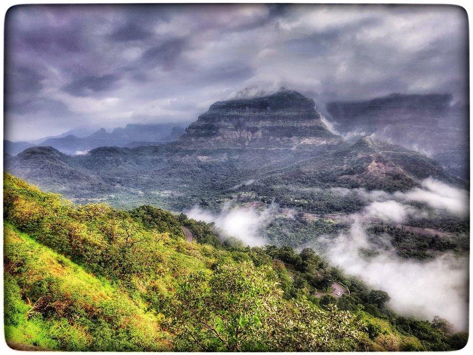 2021 Rainy Season. Malshej Ghat, Maharashtra.