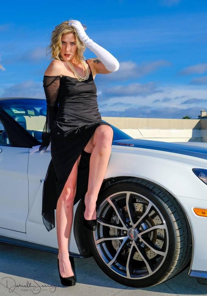model Cherish T Corvette 60th anniversary