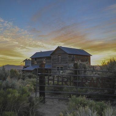 Shirk Ranch Gate