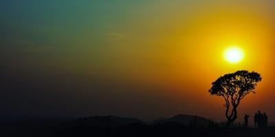A Hampi Sunset