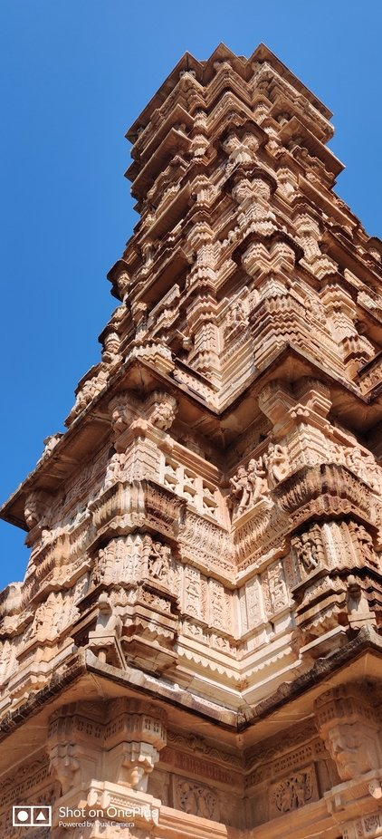 Victory tower in Chitorgarh (rajasthan)