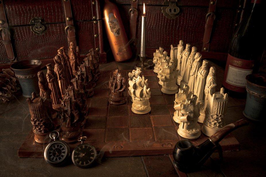 The Queen's Gambit, chessboard