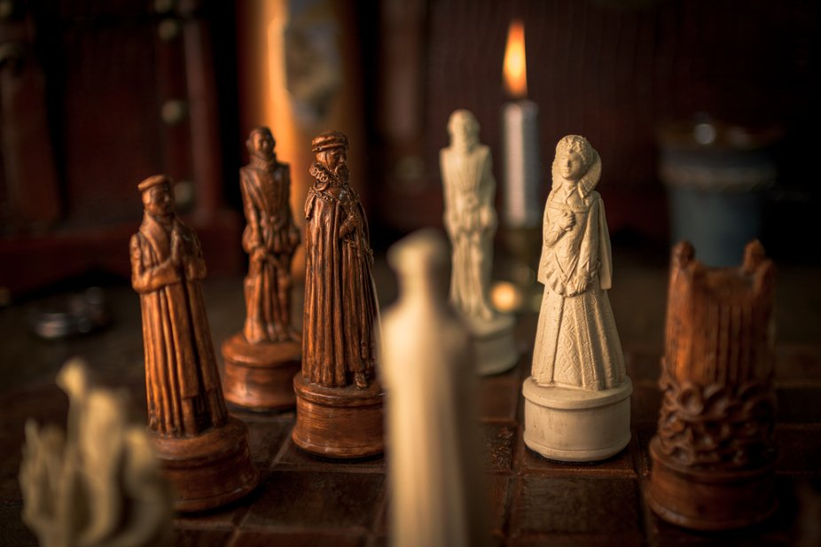 chessboard, chess figures