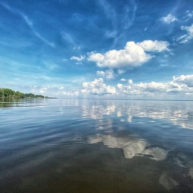 Calm waters on Albemarle Sound