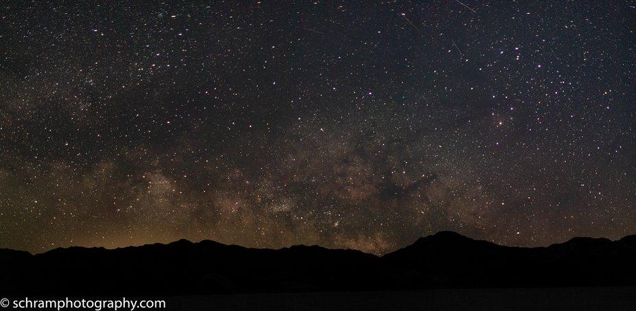 June in Death Valley California