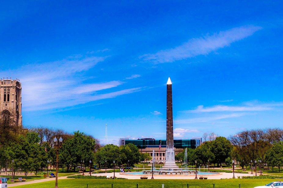 Veteran's Park in Indianapolis