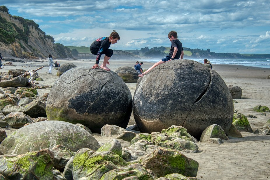 The Moeraki boulders are one of the most intriguing geological formations that I have seen. These...