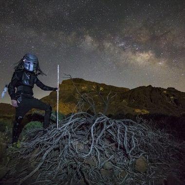 Predator and the Milky Way.