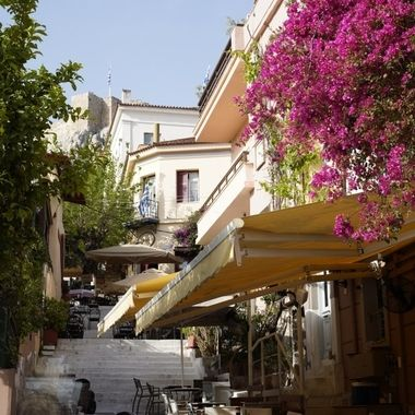 little street in Athens...