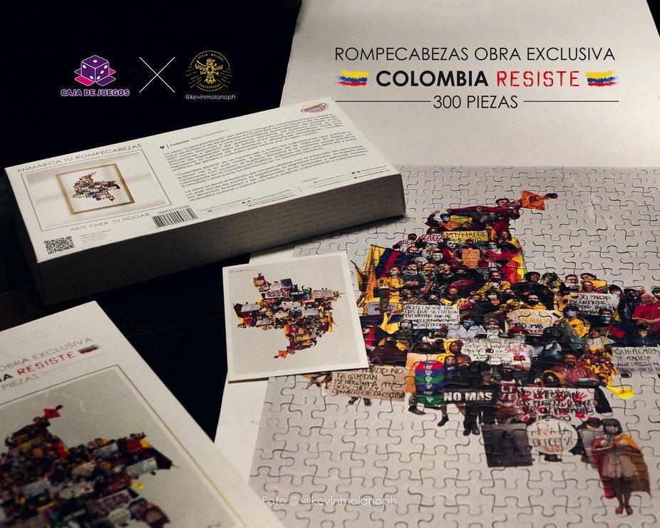 rompecabezas colombia resiste_@kevinmolanoph_ caja de juegos colombia pieza_Mesa de trabajo 1