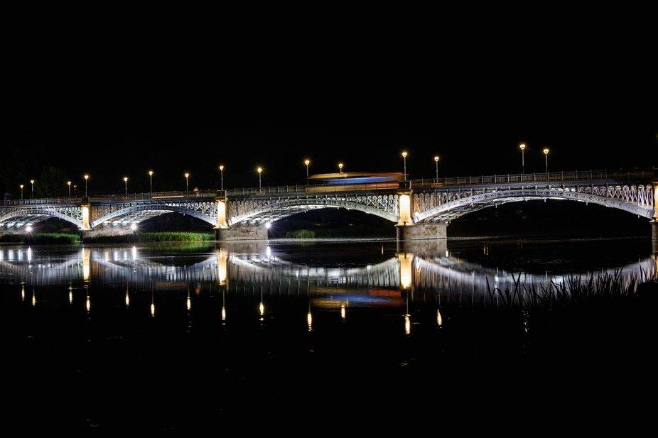 Bridge over Tormes river (Salamanca, Spain).