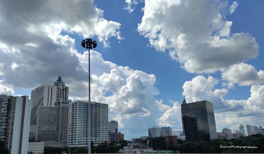 Skylines, skyscrapers, & clouds