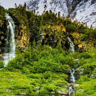 Yet another picture of some of the waterfalls that captivated our attention throughout our stay and travelling through the park. This truly is God's Country in Montana