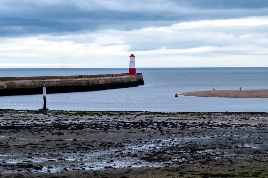 Berwick upon Tweed Lighthouse from the town walls