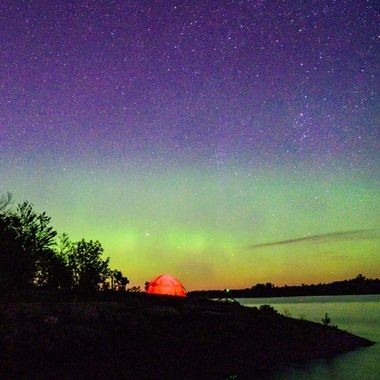 Northern Lights in Voyageur Country