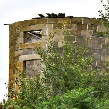 Empty silo