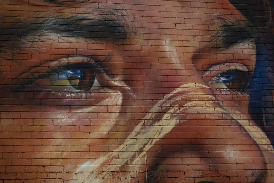 Street Art in Benalla by Matt Adnate.