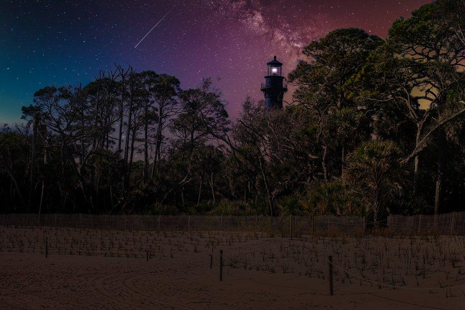 Huntington Island Light