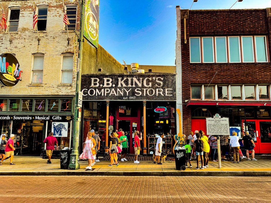 Beale Street in Memphis Tennessee 7/2021