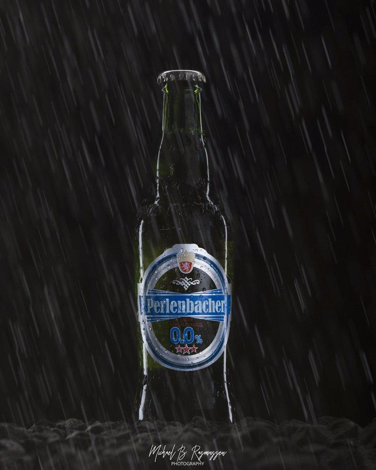 Product shot of a Perlenbacher beer