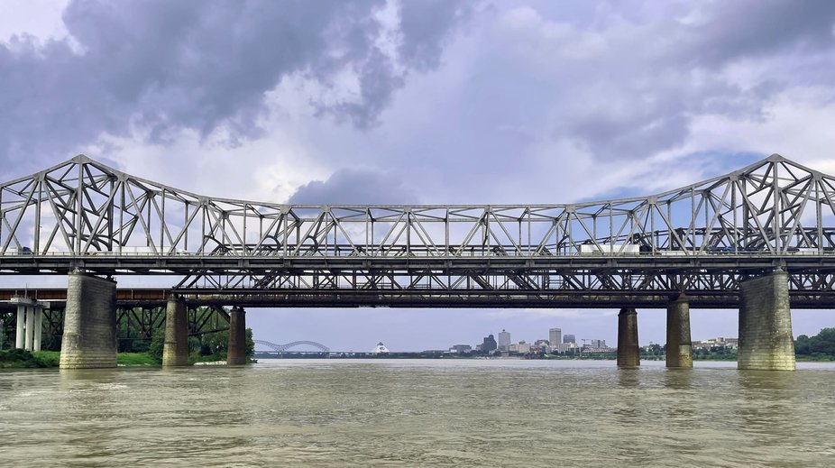 Memphis from the Mississippi River