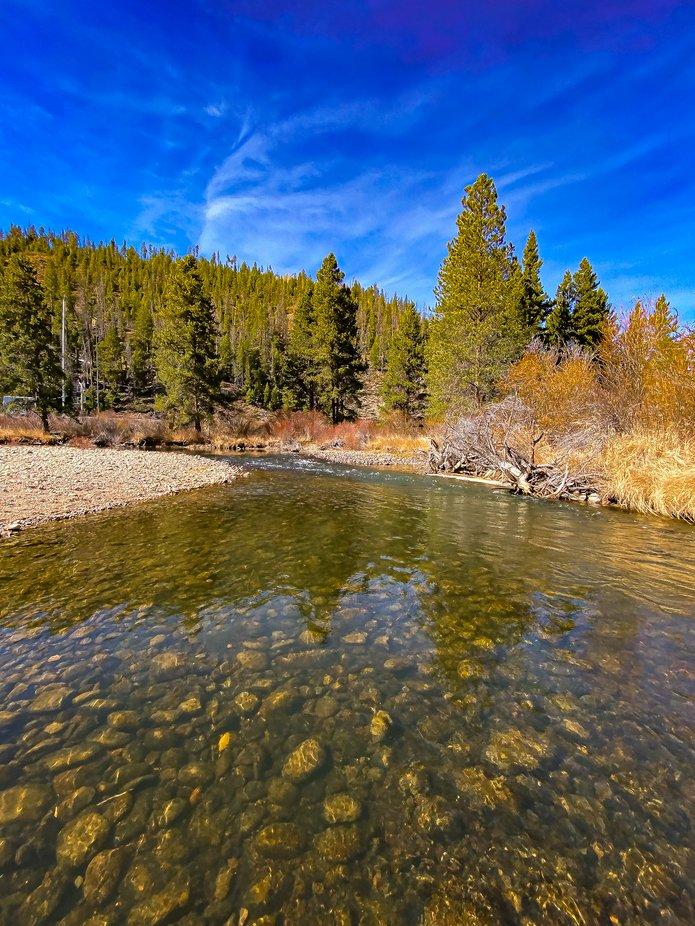 The Colorado River near Tabernash Colorado