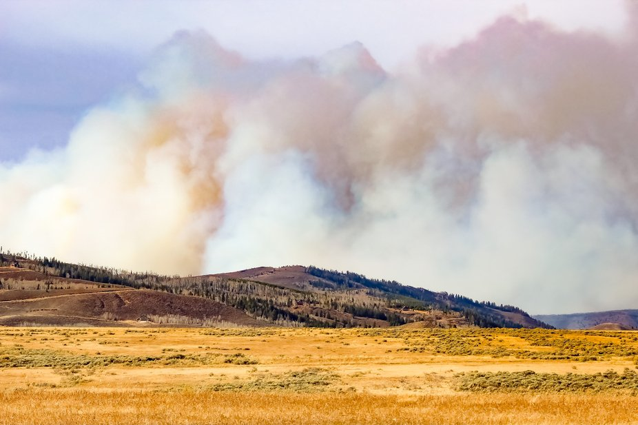 Wildfires in the Rockies 2020