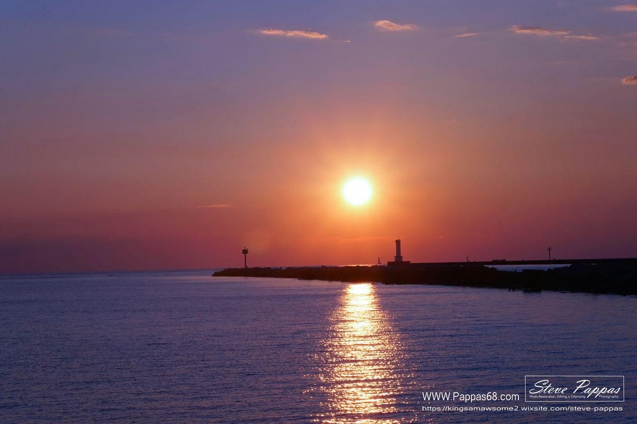 Taken at Mile Long Pier Lorain Ohio. 8-3-2021
