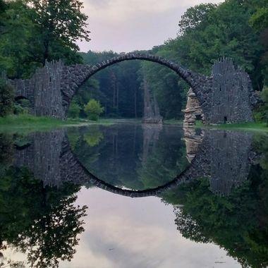 Rakotzbrücke in Saxonia- Germany