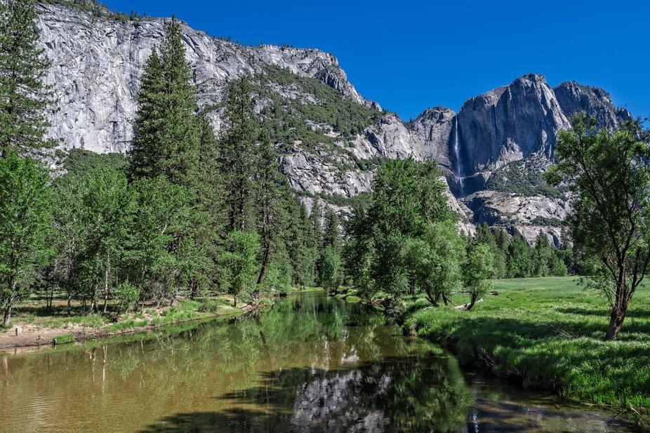 Yosemite River & Falls