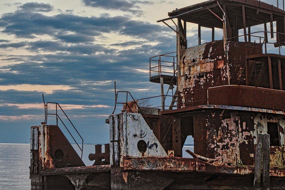 Rusting Tug