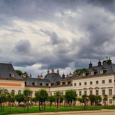 Castle Pillnitz near Dresden in Saxonia