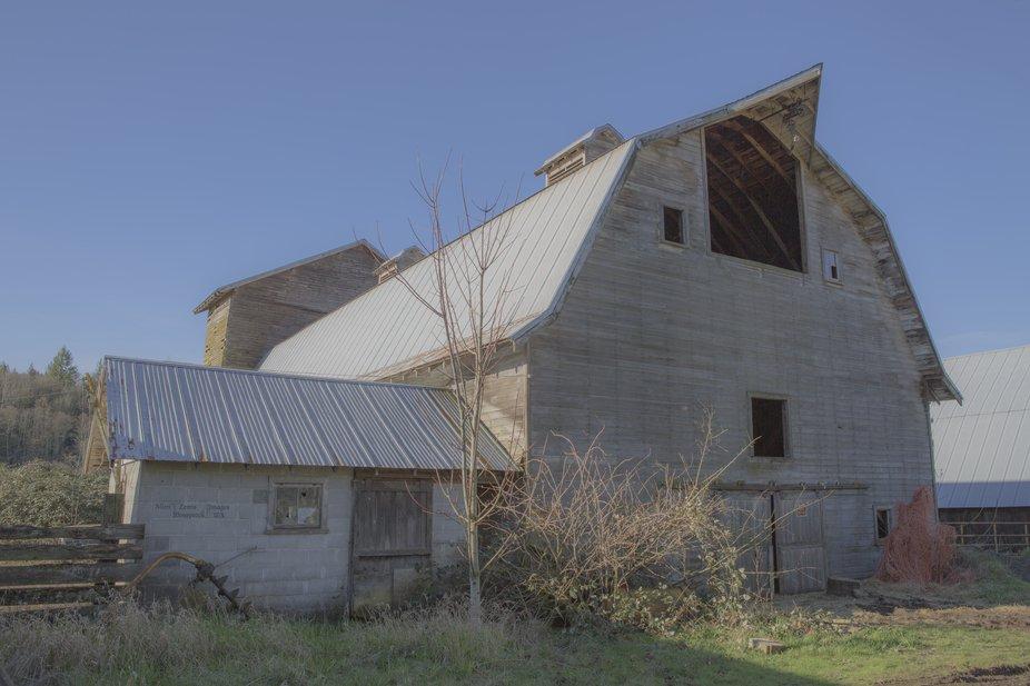 Old Barns in Washington