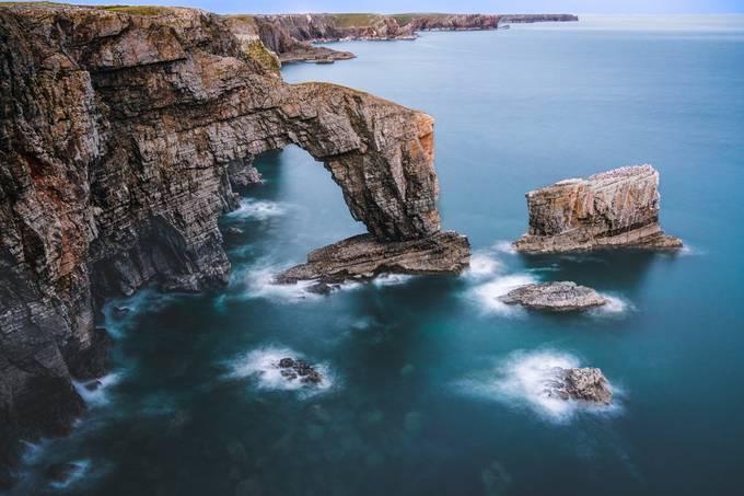 Sea cliffs by necru - Capture Cliffs Photo Contest