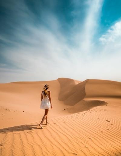 Desert Walk v2   Glamis, California