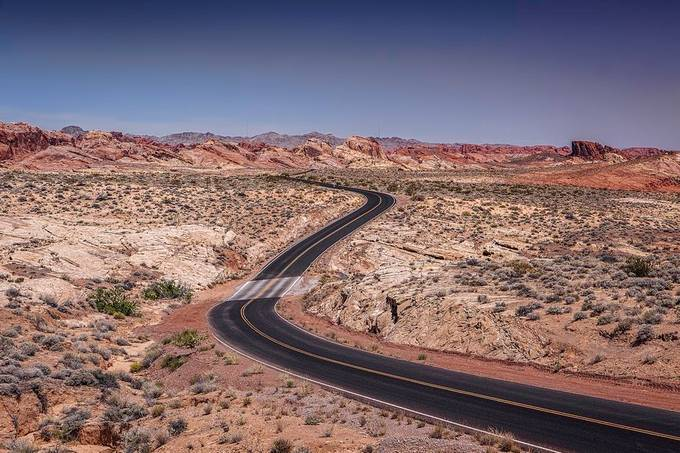 Valley of Fire 8 by didierciambra - Compose With S Curves Photo Contest