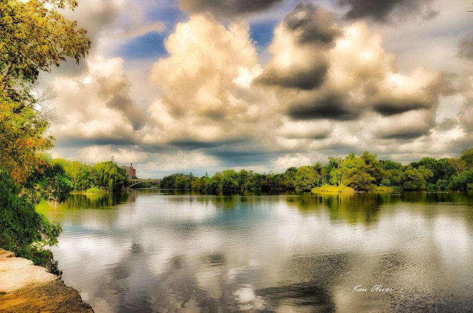 Trent River at Little Lake