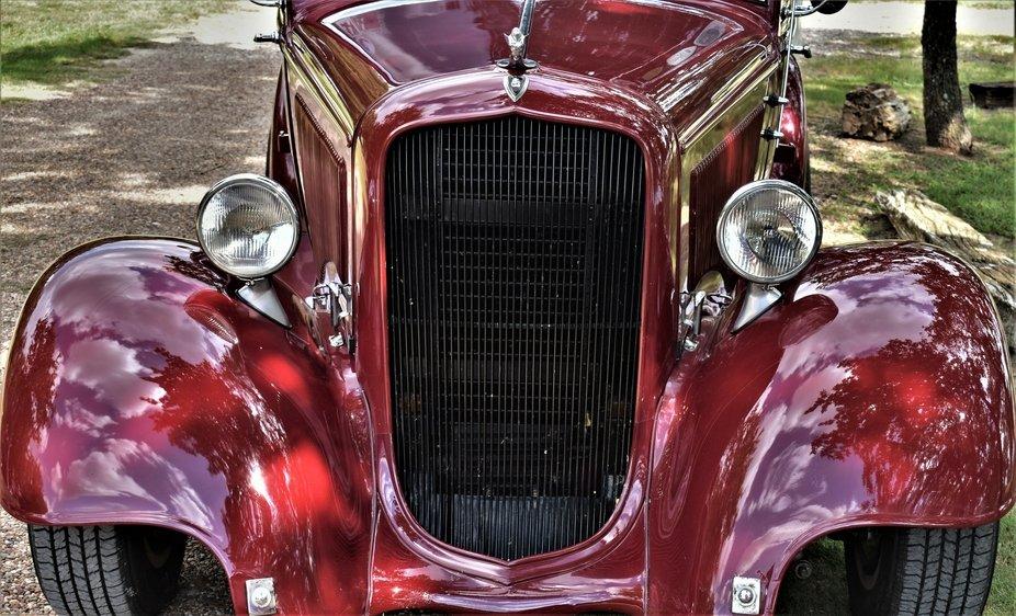 refurbished car