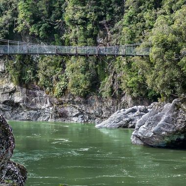 Hokitika Swing Bridge